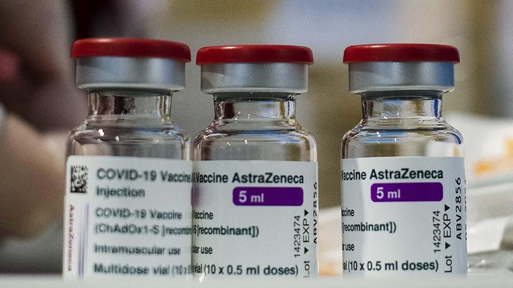 El domingo llegan 864 mil nuevas dosis de vacunas de AstraZeneca