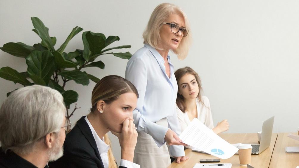 El porcentaje de mujeres en cargos directivos es del 31% en el país.