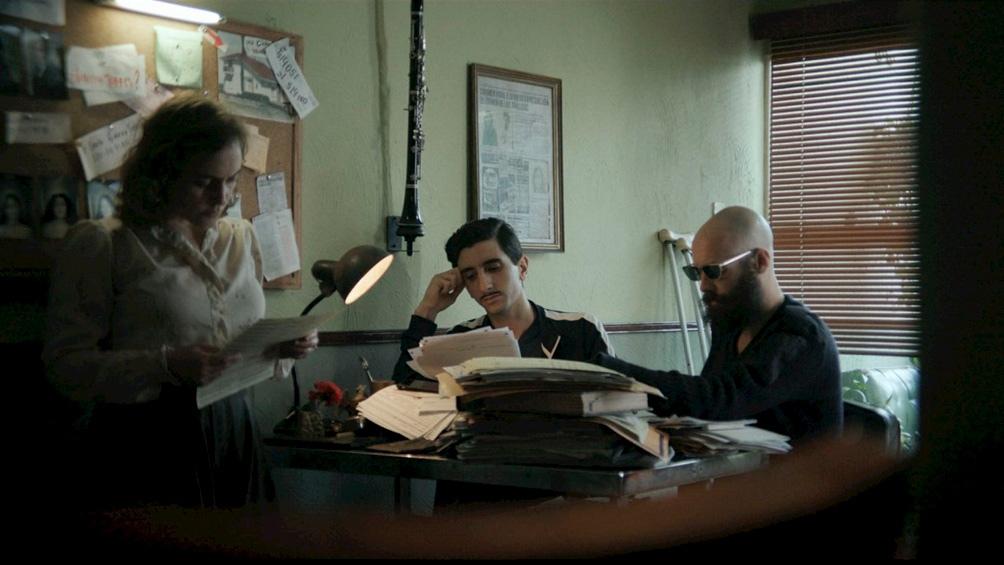 """""""Carmen Vidal, mujer detective"""", una película uruguaya que se presentó en la competencia."""