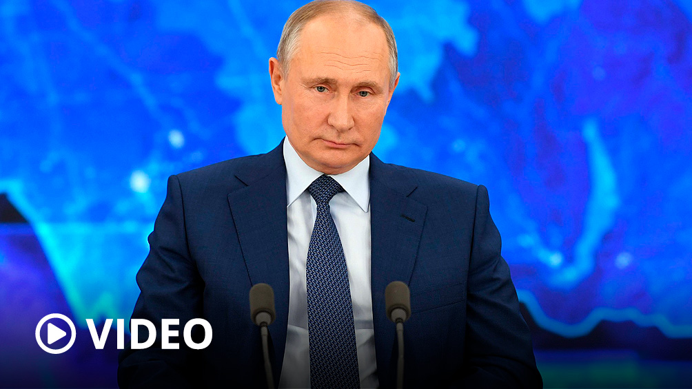 Putin se vacuna hoy contra el coronavirus