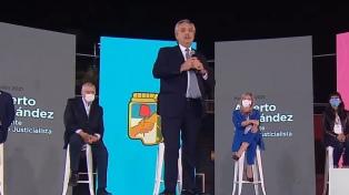 """Fernández: """"Los peronistas llegamos para representar a quienes no tienen voz"""""""