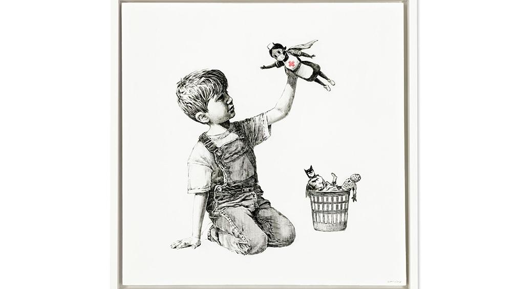 Banksy, el enigma del artista que triunfa en el mercado con sus críticas al sistema.