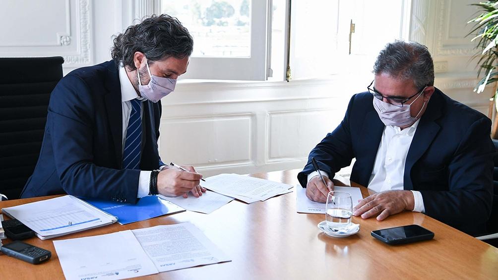 Diez localidades catamarqueñas dispondrán de conexión gracias a la firma del nuevo convenio firmado con Nación.