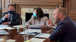 Tras más de dos horas, finalizó el encuentro que mantuvieron Guzmán y Georgieva en Washington