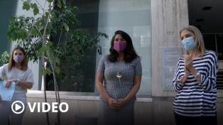 Télam homenajeó a trabajadores desaparecidos y recibió un proyecto para preservar su archivo