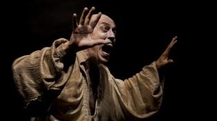 """Un descomunal Pompeyo Audivert abre las puertas de """"Habitación Macbeth"""""""