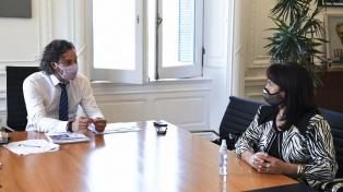 Cafiero analizó con Susana Trimarco el trabajo de la Fundación María de los Ángeles