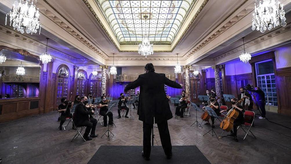 La orquesta de Cámara del Congreso harà un concierto virtual.