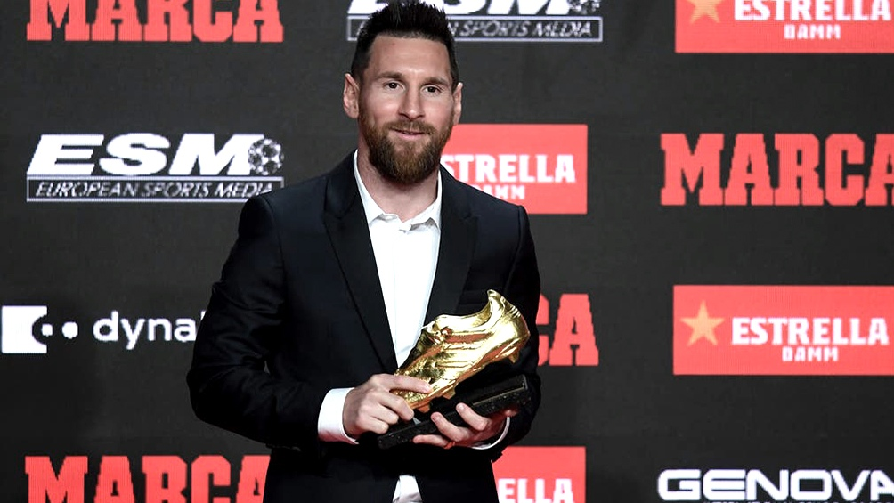 Messi está segundo con Ronaldo, lejos de Lewandowski en la puja por el Botín de Oro