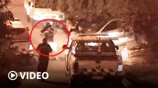 Lo detuvieron tras golpear a su pareja y ser registrado por las cámaras en Tigre