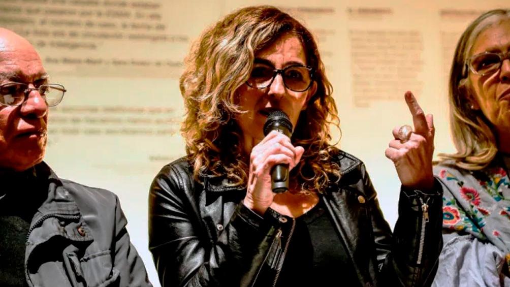 """Fabiana Rousseaux coordinó el Centro de Asistencia a Víctimas del Terrorismo de Estado """"Dr. Fernando Ulloa"""". Foto Gentileza Contraeditorial."""