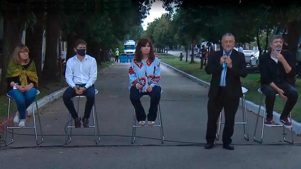 """Cristina Fernández: """"A los que estatizaron sus deudas en la dictadura nunca les pasó nada"""" - Télam - Agencia Nacional de Noticias"""