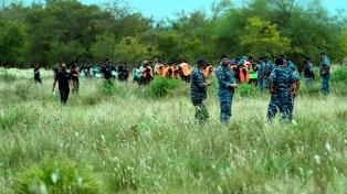 Suspendieron los rastrillajes en busca de Tehuel hasta que cesen las lluvias