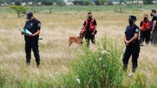 Fuerzas federales con perros adiestrados se suman a la búsqueda de Tehuel