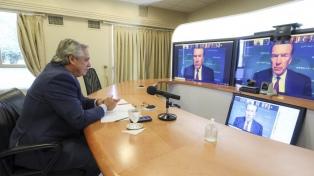 """El Presidente y el titular del BM dialogaron sobre un """"crecimiento armónico y equitativo"""" del país"""