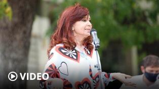 """Cristina Fernández: """"A los que estatizaron sus deudas en la dictadura nunca les pasó nada"""""""