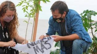 """El PJ porteño se sumó a la campaña """"Plantemos Memoria"""" en el predio Costa Salguero"""