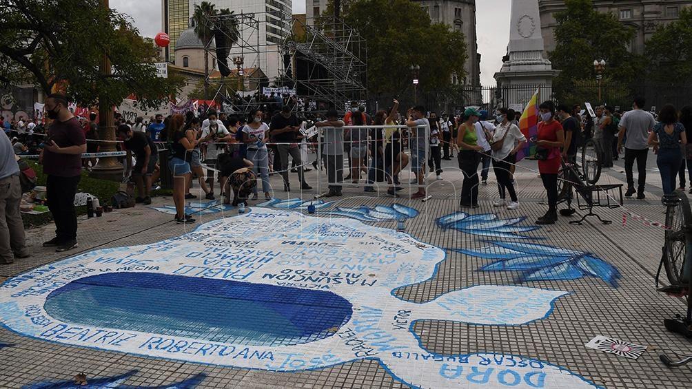 Movilización del Encuentro Memoria, Verdad y Justicia.