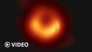 Revelan la segunda imagen de un agujero negro supermasivo
