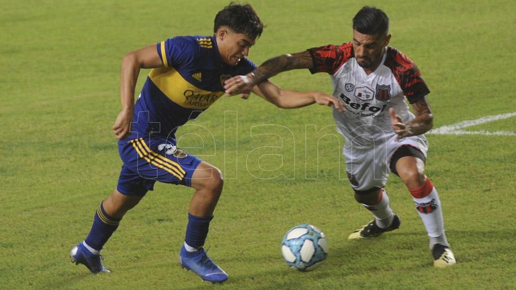 Boca le ganó 3 a 0 a Defensores de Belgrano.