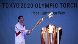 Tokio 2020 inició sin público el relevo de la llama olímpica