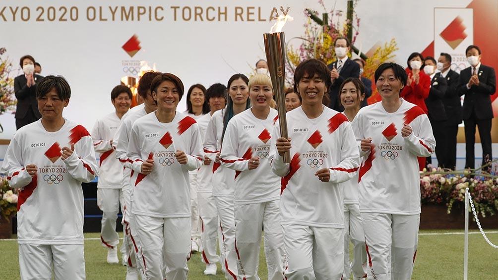 Los Juegos Tokio 2020 iniciaron este jueves en la ciudad de Fukushima, el noreste de Japón.