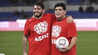 """Tras recibir la ciudadanía argentina, Diego Jr. pidió """"memoria, verdad y justicia"""" por su padre"""