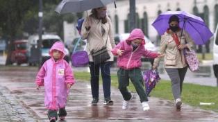 Se prevén lluvias y descenso de la temperatura en el centro del país