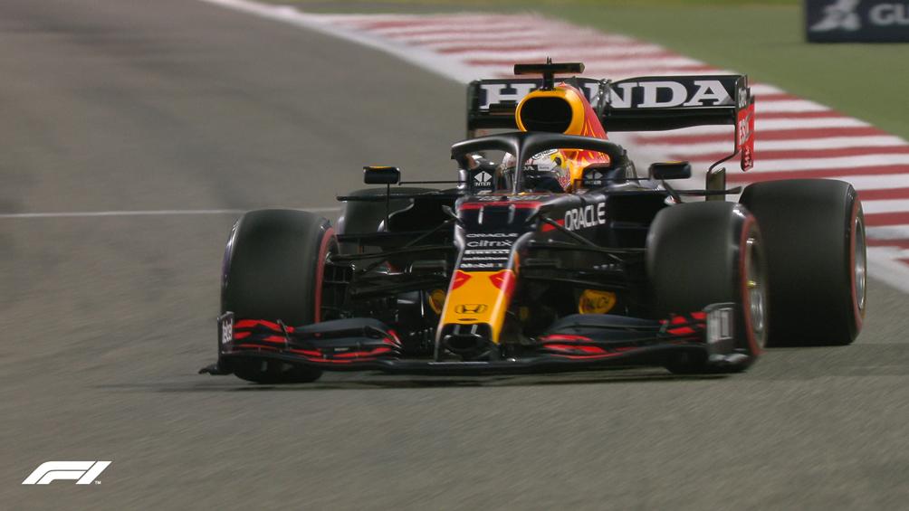 Verstappen, el mejor en las prácticas en Bahrein