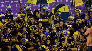 Boca estrenó su título de campeón con una goleada ante Defensores de Belgrano