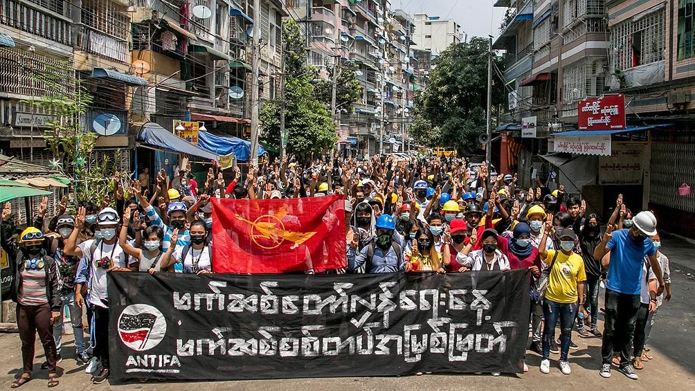 Protestas contra el golpe de Estado