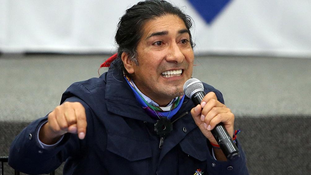El líder indígena Yaku Pérez, tercero por escasísimo margen en la primera vuelta de las elecciones en Ecuador,