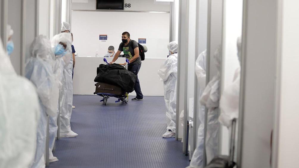 Unos 1.060 pasajeros que ingresarán el fin de semana provenientes de México, Brasil y Chile.