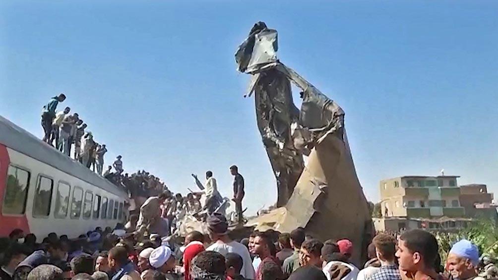 El presidente egipcio, Abdel Fatah Al Sisi, prometió sanciones para los responsables del accidente.