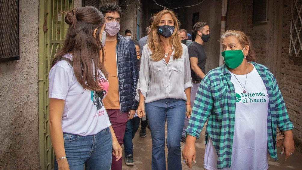 """""""La gente está muy abocada a ver cómo salimos de esta pandemia"""", aseguró Tolosa Paz."""