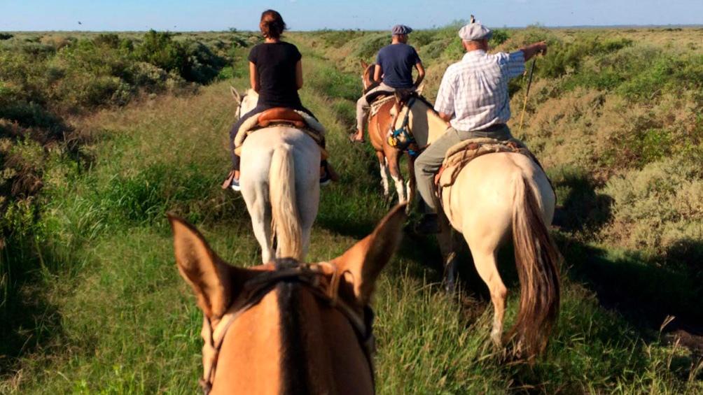 """""""La gente está ávida de hacer cosas en la naturaleza. Queremos un parque sin restricciones, que sea por y para la gente"""", dice Laura Josens, bióloga de la ONG Aves Argentinas."""