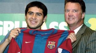 A 20 años de la transferencia de Riquelme al Barcelona