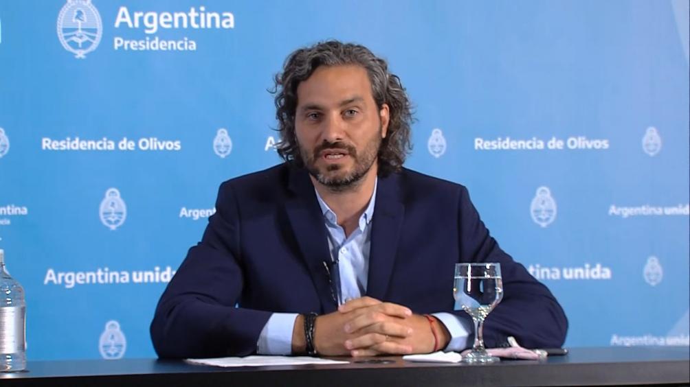 O ministro-chefe da Casa Civil, Santiago Cafiero