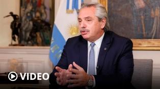 """Fernández pidió """"explorar un nuevo marco"""" para el """"alivio de la deuda pública a nivel global"""""""
