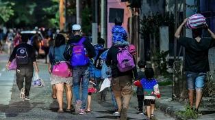 Partió una nueva caravana de migrantes de Honduras rumbo a EEUU