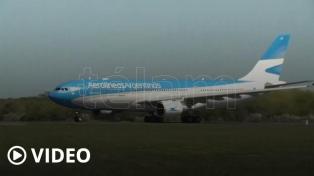 Partió de Beijing el segundo vuelo de Aerolíneas que trae vacunas desde China
