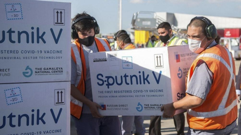 Hasta el momento, Aerolíneas Argentinas trajo desde Moscú más de 6 millones de dosis de la vacuna Sputnik V.