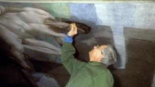 A los 92 años murió Gianluigi Colalucci, restaurador de los frescos de la Capilla Sixtina