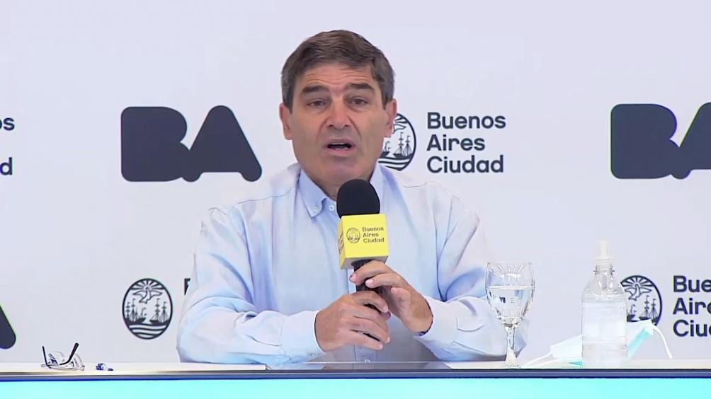 """Quirós: """"hay riesgo de una nueva variante y la Argentina no es la excepción"""""""