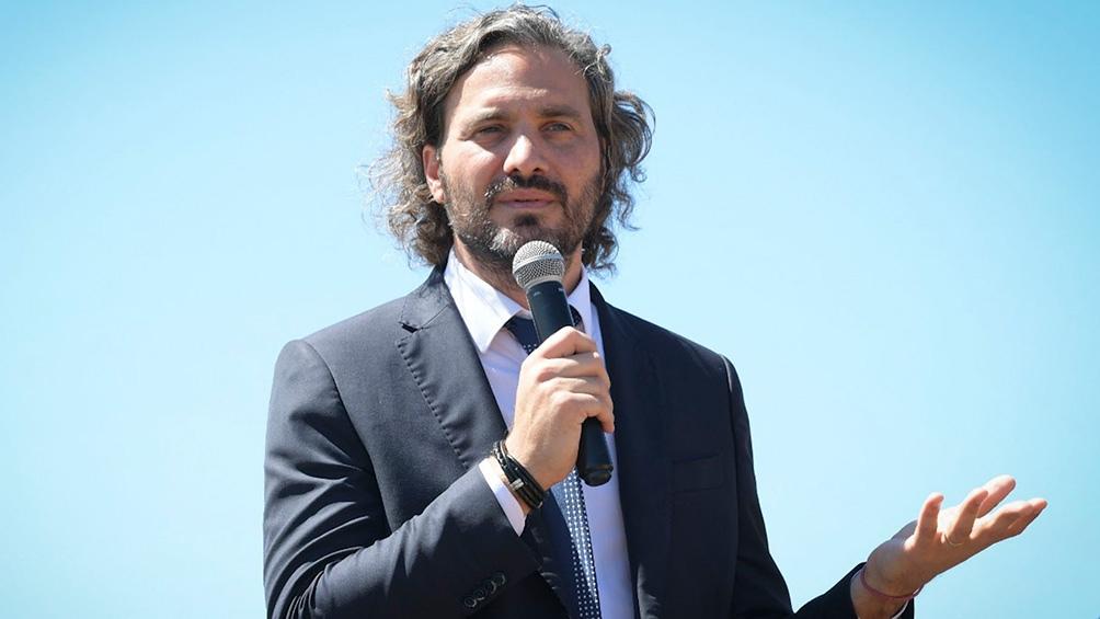 """El jefe de Gabinete, Santiago Cafiero, destacó que la firma """"es parte de la política del Gobierno nacional de avanzar con la conectividad"""""""