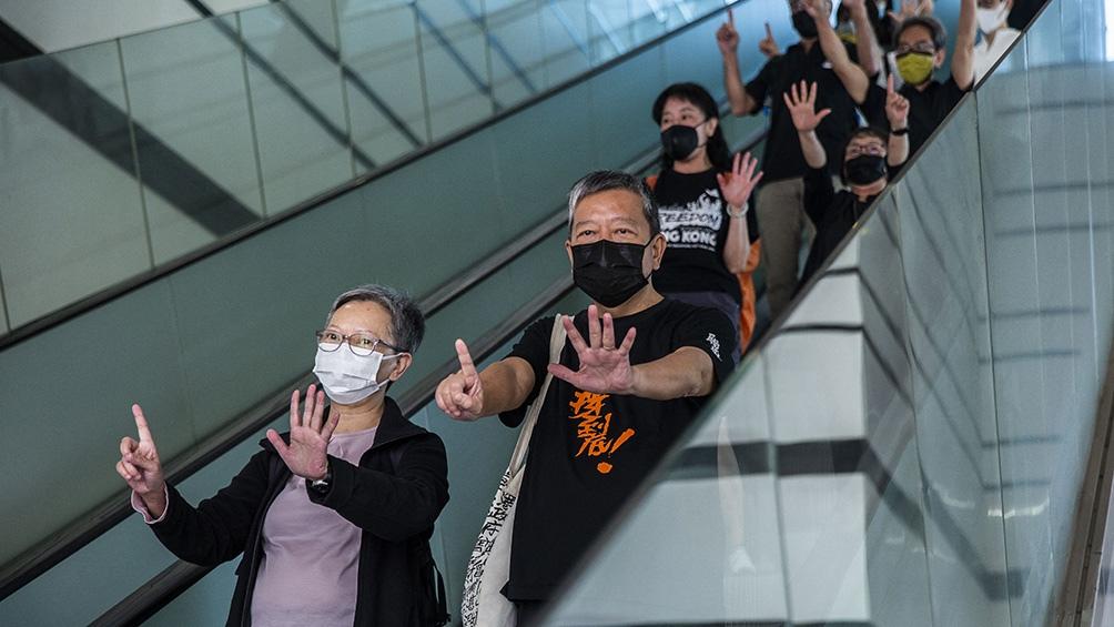 Los activistas podrían ser condenados a hasta cinco años de prisión
