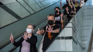Otros nueve activistas prodemocracia de Hong Kong fueron declarados culpables