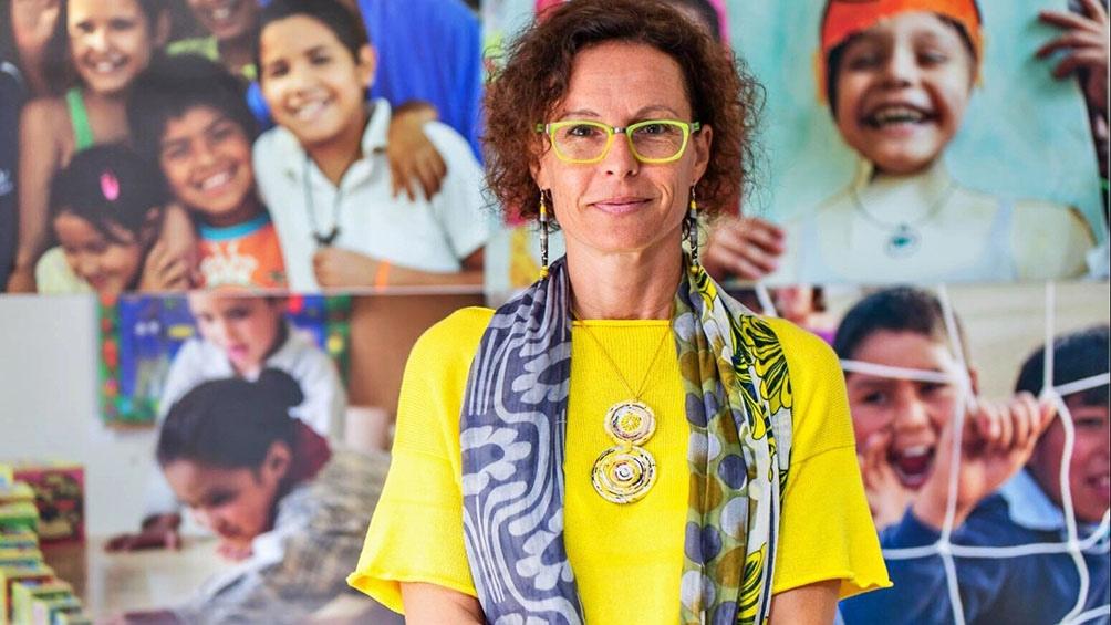 Luisa Brumana, representante de Unicef en la Argentina.