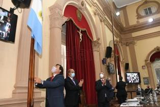 """Sáenz: """"Veo una luz de esperanza con un presidente que habla de federalismo"""""""