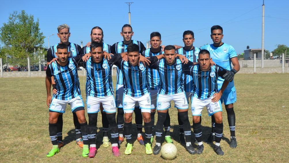 Malvinas Fútbol Club, uno de los equipos que podría integrar los cuatro clubes para afiliarse a la AFA y jugar la primera D